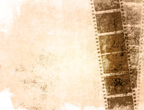 Grunge film strip backgrounds. Great film strip for textures and backgrounds-with space for your text and image Stock Photos