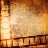 Grunge film strip backgrounds Royalty Free Stock Images