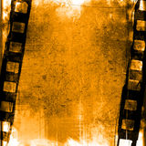 Grunge film strip backgrounds Stock Photography