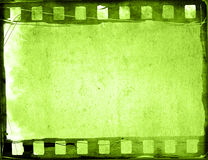 Grunge film strip backgrounds Stock Images