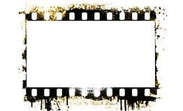 Grunge film strip frame Stock Photos