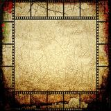 Grunge film strip frame Stock Photography