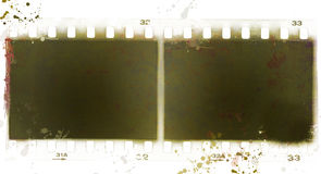 Grunge film strip frame Royalty Free Stock Photos