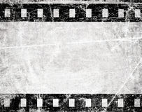 Grunge film stripe. With place for text Stock Images