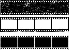 Grunge film strips Stock Photo