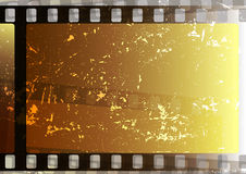 Grunge film strips Stock Image