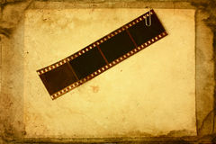 Grunge film tape Royalty Free Stock Photos