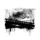 Grunge filmar bakgrund Arkivfoto