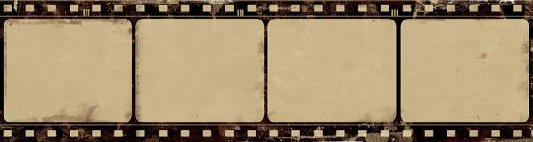 Grunge filmar inramar med utrymme för text eller avbildar Royaltyfri Bild