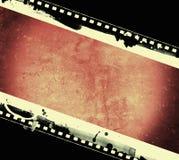 Grunge filmar inramar med utrymme för text eller avbildar Arkivbild