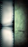 Grunge filmar inramar med utrymme för text eller avbildar Arkivbilder