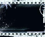 Grunge filmar inramar med utrymme för text eller avbildar royaltyfria foton