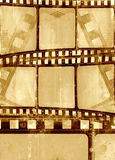 Grunge Filmfeld Stockfotografie