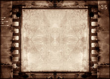 Grunge Filmfeld lizenzfreie abbildung