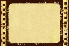 Grunge Filmfeld stock abbildung