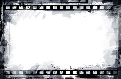Grunge Filmfeld Lizenzfreie Stockfotos