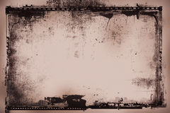 Grunge Filmnegativ Lizenzfreies Stockbild