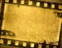 Grunge filmram Royaltyfri Foto