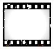 Grunge Filmstreifen Lizenzfreie Stockfotografie