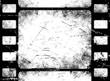 Grunge filmstrip. A filmstrip frame, grungy texture Stock Images