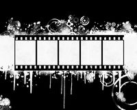 Grunge Filmstrip Royalty Free Stock Photography