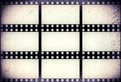 Grunge filmstrip Στοκ φωτογραφία με δικαίωμα ελεύθερης χρήσης
