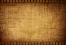 Grunge filmstrip. With some stains Royalty Free Stock Images