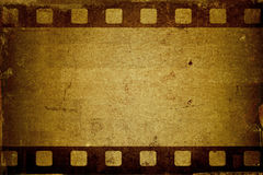Grunge filmstrip Stock Photos