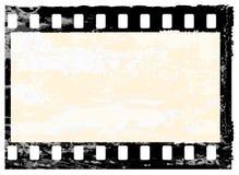 Grunge filmstrip frame. Aged vector illustration of a grunge filmstrip frame Stock Images