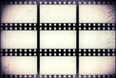 Grunge filmstrip Royalty Free Stock Photo
