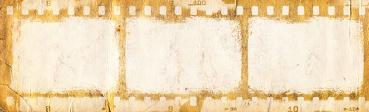 Grunge filmstrip. May be used as a background, design element Royalty Free Stock Image