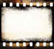 Grunge filmstrip Royalty Free Stock Image