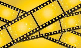 Grunge filmstrips Royalty Free Stock Image