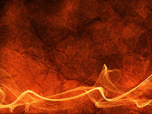 Grunge fire lines abstract background. Bright flame backdrop Royalty Free Stock Images