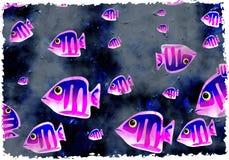 Grunge fish royalty free stock image