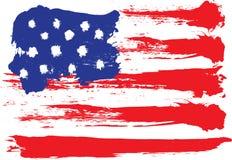 Grunge flag Royalty Free Stock Images