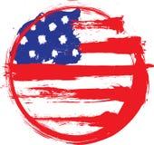 Grunge flag Stock Image