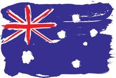 Grunge flag Stock Photo