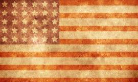 Grunge flag Royalty Free Stock Image