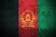 Grunge Flag Of Afghanistan Stock Image
