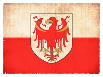 Grunge flag of Alto Adige & x28;Italy& x29; Royalty Free Stock Photography
