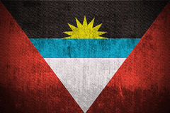 Grunge Flag Of Antigua and Barbuda Royalty Free Stock Photo