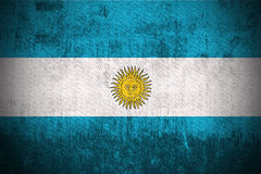 Grunge Flag Of Argentina Royalty Free Stock Photography