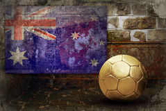 Grunge flag of Australia Royalty Free Stock Images