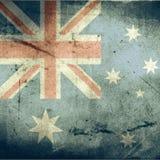 Grunge flag of australia Royalty Free Stock Image