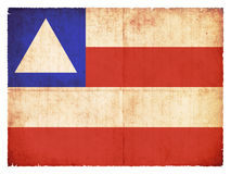 Grunge flag of Bahia & x28;Brazil& x29; Stock Image
