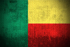Grunge Flag Of Benin Royalty Free Stock Images