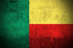 Grunge Flag Of Benin royalty free stock images