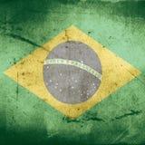 Grunge flag of brazil Royalty Free Stock Photo