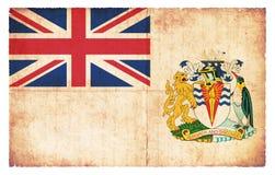 Grunge flag of British Antarctic Territory Great Britain. Flag of British Antarctic Territory Great Britain  created in grunge style Stock Photos